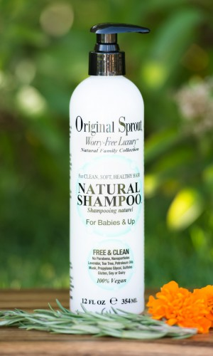 web 354ml Natural Shampoo