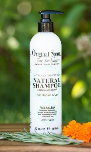 web 354ml Natural Shampoo