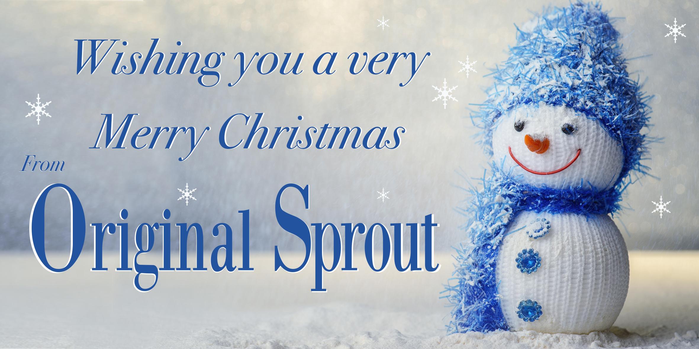 Original Sprout merry Xmas